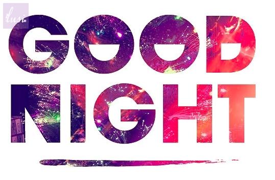 Dobranoc :)